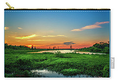 Carry-all Pouch featuring the photograph Twilights Arrival by Marvin Spates