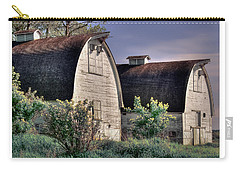 Twin Barns, Nisqually, Wa Carry-all Pouch by Greg Sigrist
