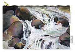 Twin Falls Carry-all Pouch by Rae Andrews
