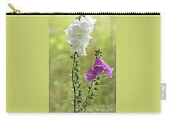 Twin Foxgloves Carry-all Pouch