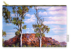 Twin Ghost Gums Of Central Australia Carry-all Pouch
