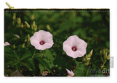 Twin Light Pink Glades Morning Glorys Carry-all Pouch