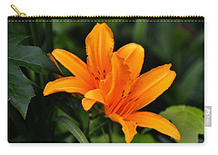 Twin Lillies Carry-all Pouch