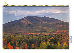 Twin Mountain Autumn Sunset Carry-all Pouch