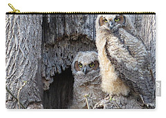 Twin Owls Carry-all Pouch