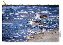 Twin Plovers Carry-all Pouch