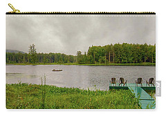Carry-all Pouch featuring the photograph Twin Ponds Landscape by David Patterson