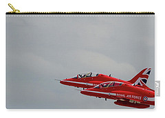 Twin Red Arrows Taking Off - Teesside Airshow 2016 Carry-all Pouch