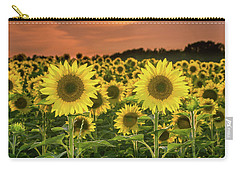 Carry-all Pouch featuring the photograph Peaceful Opposition by Bill Pevlor