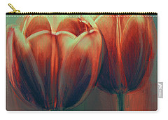 Twin Tulips Carry-all Pouch