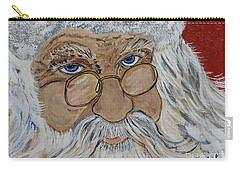 Twinkle In His Eye - Santa Carry-all Pouch