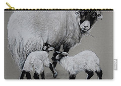 Twins Carry-all Pouch by Jean Cormier