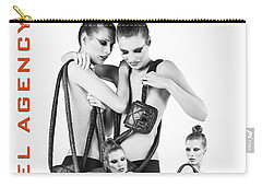 Twins Model Agency Carry-all Pouch