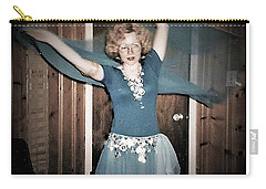 Carry-all Pouch featuring the photograph Twirling Vortex by Denise Fulmer
