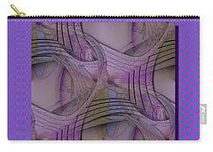 Twist Again Carry-all Pouch by Iris Gelbart