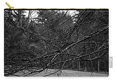 Carry-all Pouch featuring the photograph Twisted And Wet by Angie Tirado