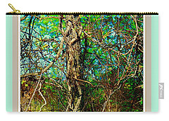 Twisted Branches Carry-all Pouch