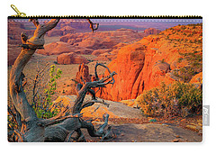 Twisted Remnant Carry-all Pouch