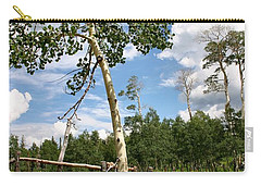 Twisted Trunk Carry-all Pouch by Kristin Elmquist