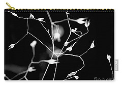 Twittering Seed Pods Bw Carry-all Pouch