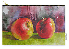 Two Apples Carry-all Pouch