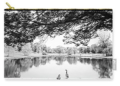 Carry-all Pouch featuring the photograph Two At The Pond by Karol Livote