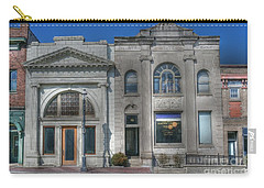 Two Banks Carry-all Pouch by David Bearden