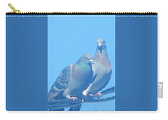 Two Birds In Spring Carry-all Pouch