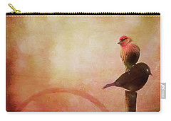 Two Birds In The Mist Carry-all Pouch