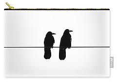 Two Birds On A String Carry-all Pouch