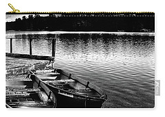 Carry-all Pouch featuring the photograph Two Boats by David Patterson