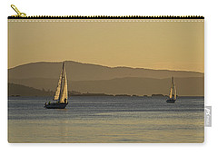 Two Boats Carry-all Pouch by Inge Riis McDonald