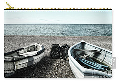 Two Boats On Seaford Beach Carry-all Pouch