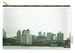 Carry-all Pouch featuring the photograph Two Bridges by Robert Knight