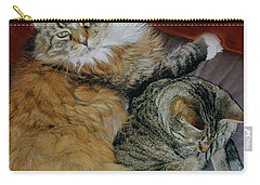 Carry-all Pouch featuring the photograph Two Brothers by Roger Bester