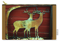 Two Bucks 1 Carry-all Pouch by Larry Campbell