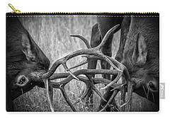 Two Bull Elk Sparring Carry-all Pouch