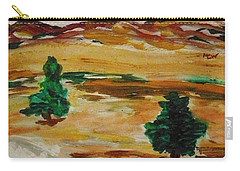 Two Cedars By The Sea Carry-all Pouch