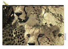 Two Cheetahs Carry-all Pouch