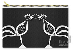 Two Crowing Roosters 2 Carry-all Pouch