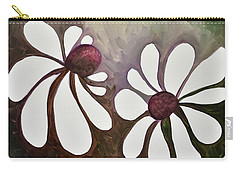 Two Daisies Carry-all Pouch