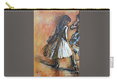 two dancers II after Degas Carry-all Pouch