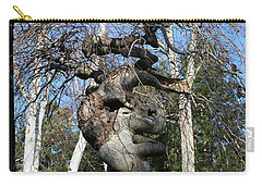 Two Elephants In A Tree Carry-all Pouch