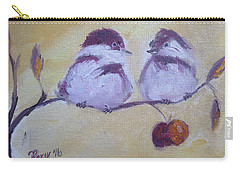 Two Fat Chicks Carry-all Pouch