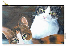Two Friends Carry-all Pouch by Diane Daigle