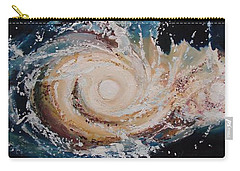 Two Galaxies Colliding Carry-all Pouch