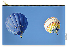 Carry-all Pouch featuring the photograph Two High In The Sky by AJ Schibig