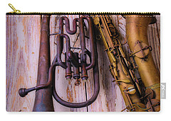 Two Horns Carry-all Pouch by Garry Gay