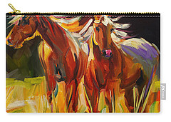 Two Horse Town Carry-all Pouch