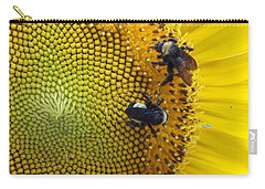 Two Is Company Carry-all Pouch by Virginia Coyle